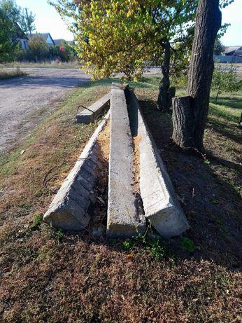 Продам железо бетонные столбы