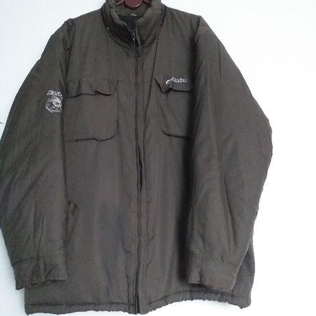 Ciepła kurtka męska khaki