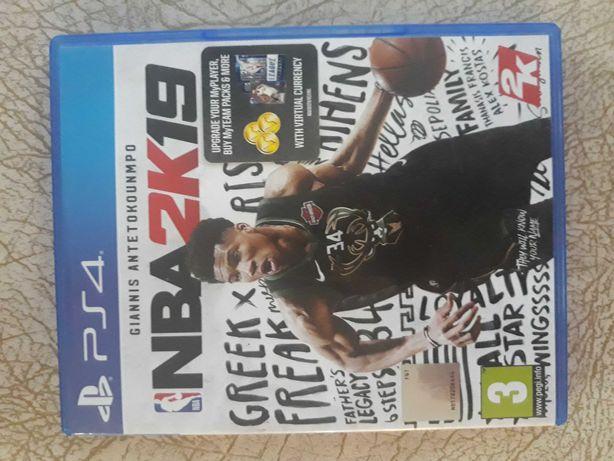 NBA 2k19  konsola Ps4
