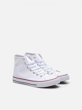 Базовые белые кроссовки конверс кеды конверсы converse all star