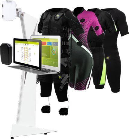 Bezprzewodowy sprzęt do treningów EMS Justfit Pro/Lite