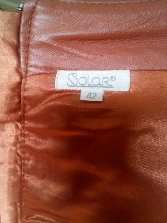Sprzedam spódniczkę ze skóry naturalnej - bardzo mało używaną
