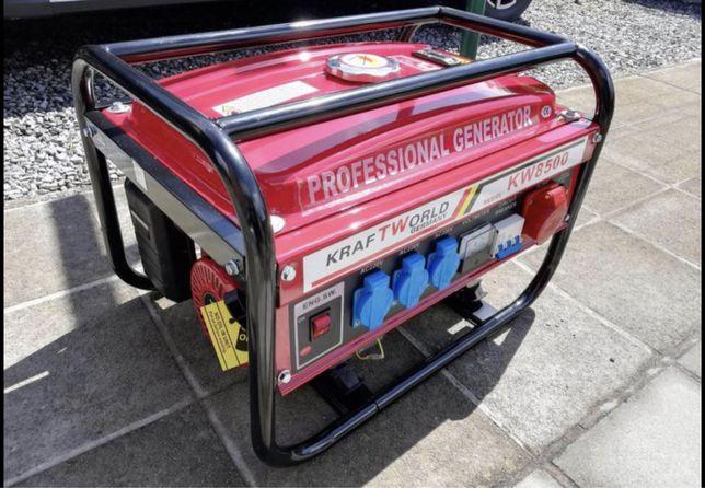 Gerador a gasolina 6500w novo