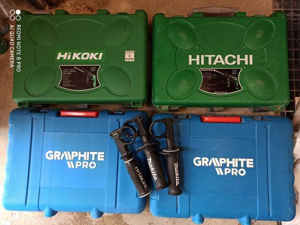 Walizka do młotowiertarki hitachi dewalt graphite