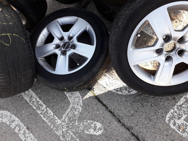 Kola VW Alufelgi Borbet R16