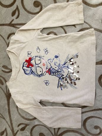 Реглан ромпер свитшот кофта H&M's Zara 104-110см(4-5лет)