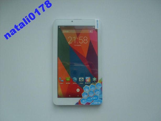 """7""""планшет Cube U51GT (оригинал) 4ядра,IPS,16 Gb,2 sim, 3G/4G"""