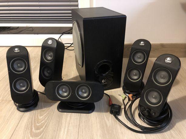Logitech X 530 glosniki komputerowe kino domowe 5.1