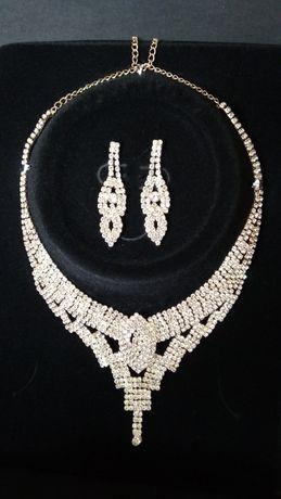 Biżuteria ślubna kolia