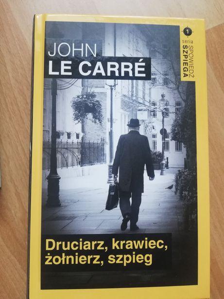 John Le Carre 'Druciarz, krawiec, żołnierz, szpieg'