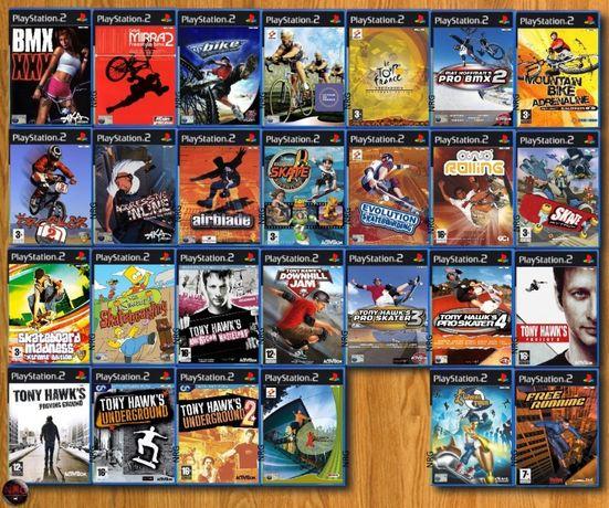 [PS2] Jogos DESPORTO 2 (Bike,Skate,Surf,Ski,Tenis,Bowling,Snooker,etc)
