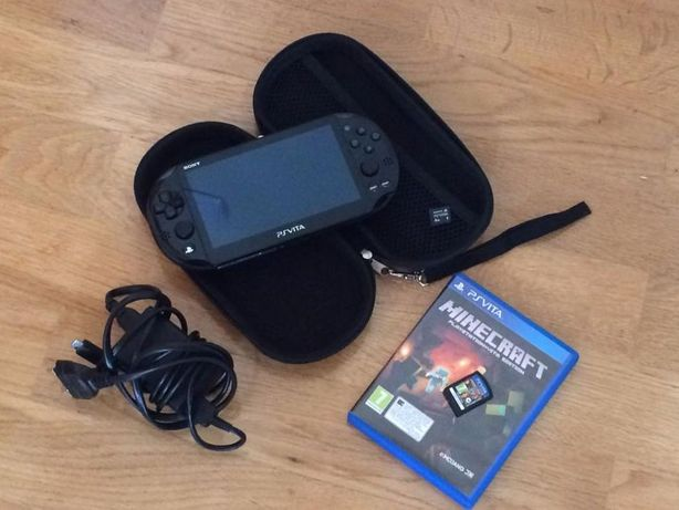 Consola de Jogos - SONY PS Vita v3.68 + Minecraft