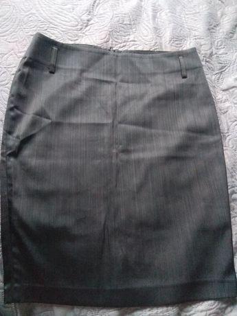 Юбка черная с отливом