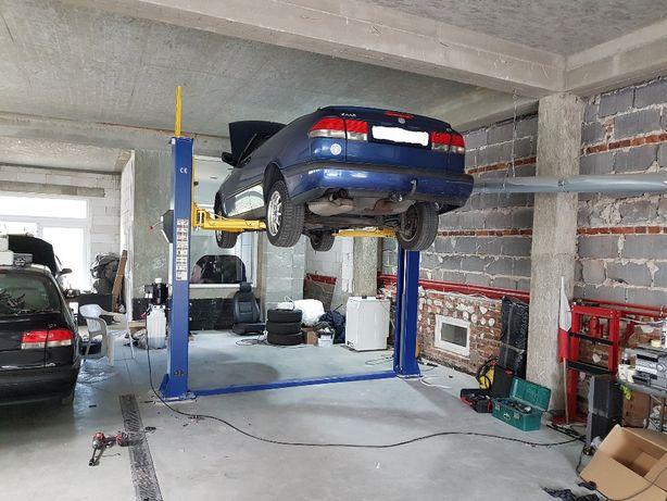 Przegląd, konserwacja, naprawa podnośników samochodowych
