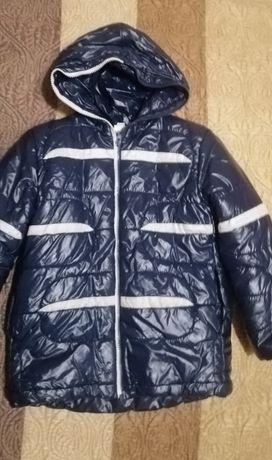 Куртка зимняя для мальчика, рост 116