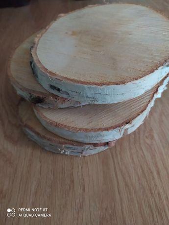 Drewniane plastry 16-20 cm