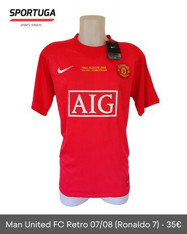 Equipamento do Man United de 2008 - Oficial!