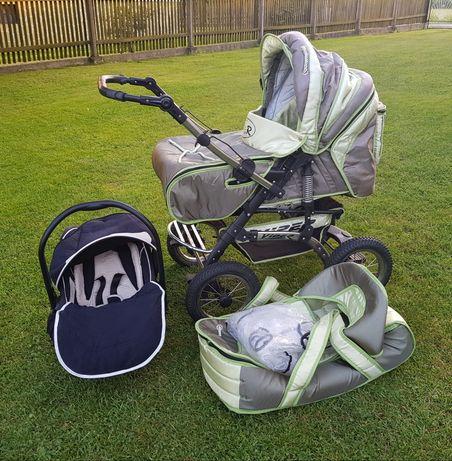 Wózek dla dziecka 2w1 + nosidełko