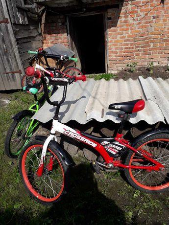 """Продам велосипед """"CROSSRIDE"""" для детей от 5-10 лет красный"""