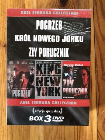 Abel Ferrara 3 DVD Zły Porucznik, Pogrzeb, Król Nowego Jorku