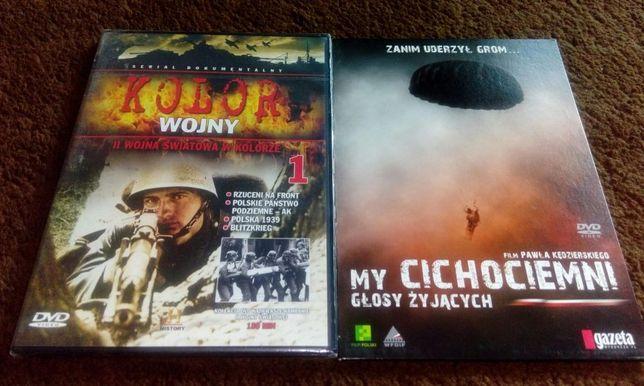 Dwie płyty dvd II wojna światowa