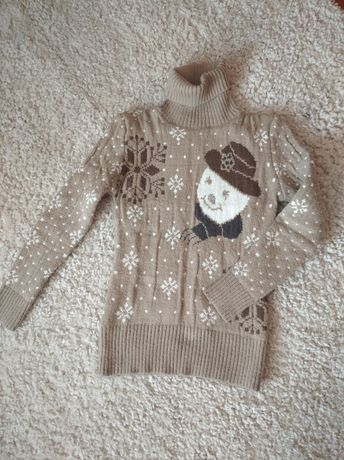 Мягкий теплый свитер