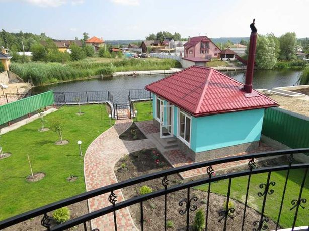 Сдается дом Таценки с выходом на речку, свой пирс