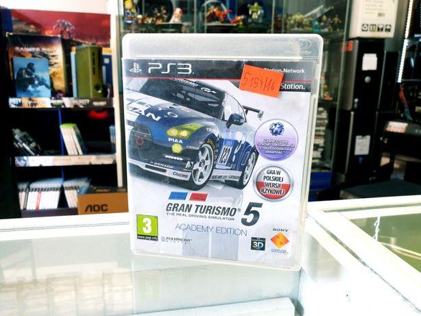 GRA PS3 Gran turismo 5 PL
