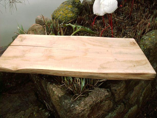 Blat , pólka , stolik do aranżacji łazienka DĄB 75 CM gr 5cm