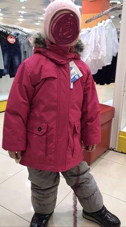 Новая зимняя куртка от Reima,128+6 рост цена распродажи!