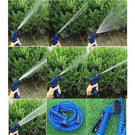 Шланг садовый поливочный Magic Xhose 52 м с распылителем растягивающий