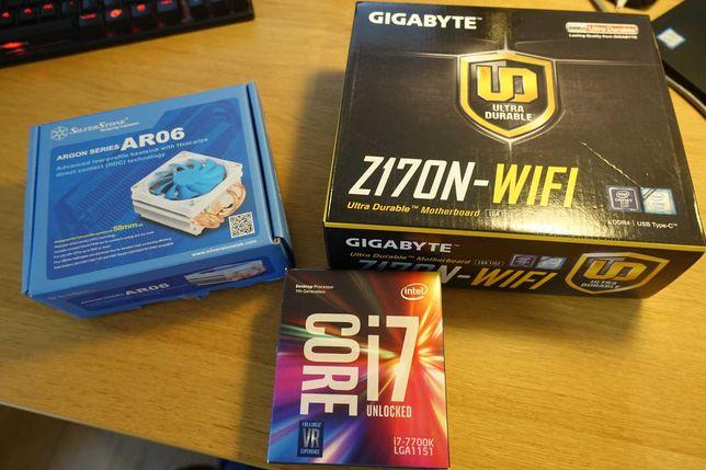 Bundle i7-7700k + Motherboard GA-Z170N-WIFI + Cooler Silverstone AR06