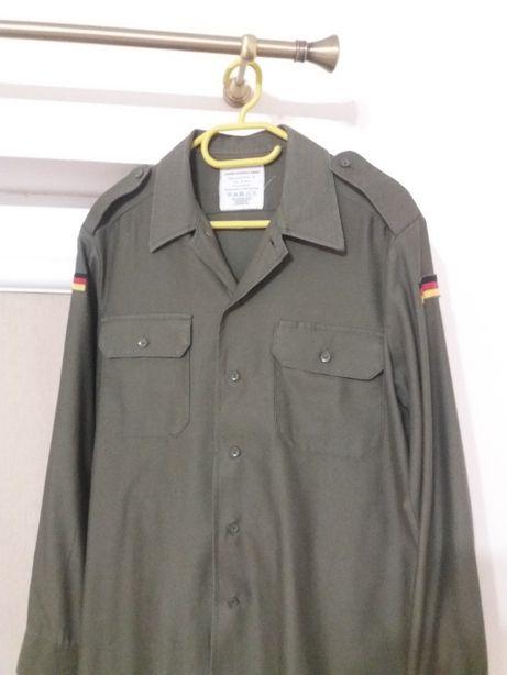 Koszula wojskowa oliwkowa oliv Bundeswehr