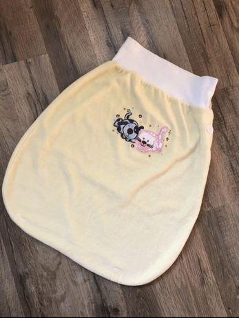 Спальный мешочек кокон от талии one size