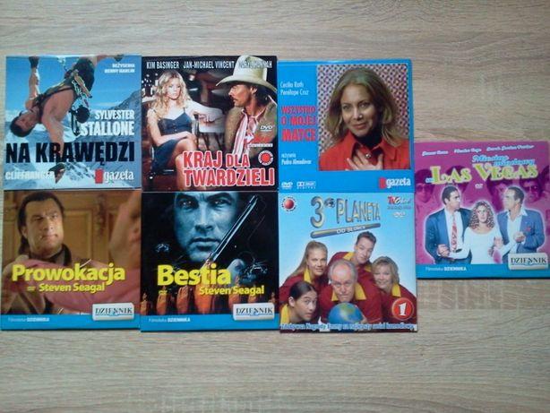 7 Filmów na płytach DVD