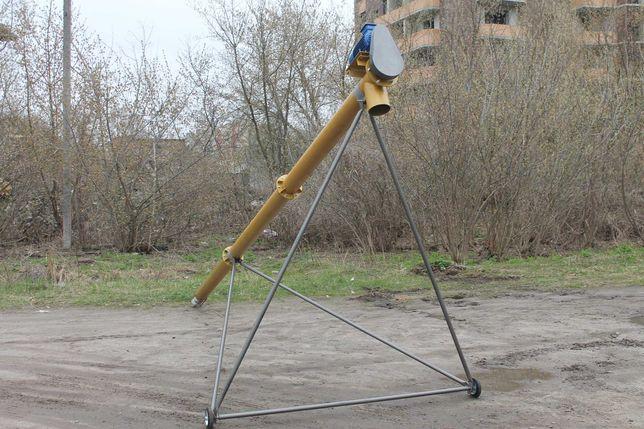 Конвейер шнековый транспортер погрузчик зернопогрузчик Ø159 мм,4 м 10т