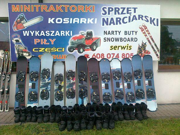 Deski snowboard Head step in 135-162cm+buty Śląsk