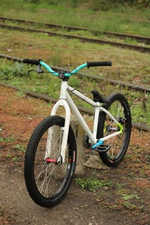 Rower NS Suburban 24' 2009 (dirt, street, pumptrack, park, slopestyle)
