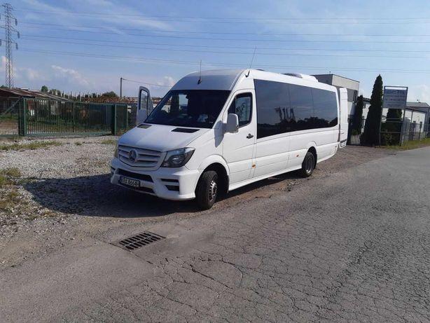 Autobus Mercedes Sprinter 24 miejsca 185000zl.