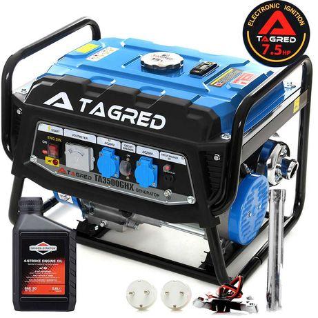 Agregat prądotwórczy 3500W TAGRED PROFESSIONAL AVR, olej