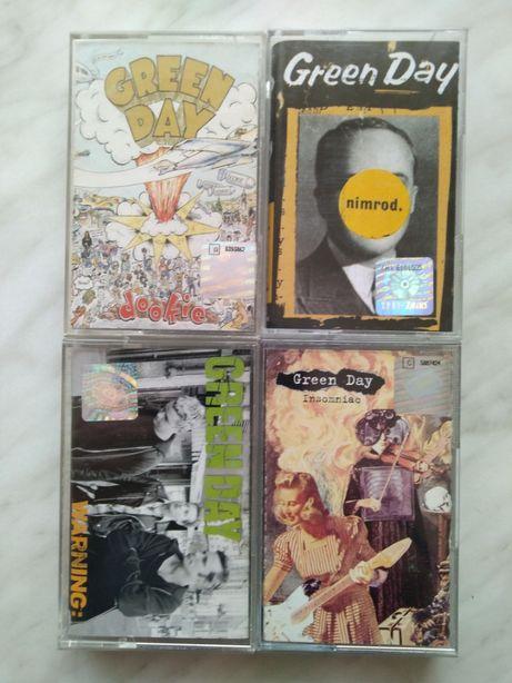 Green Day 4 kasety magnetofonowe