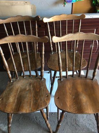 Sprzedam krzesła drewniane4 sztuki