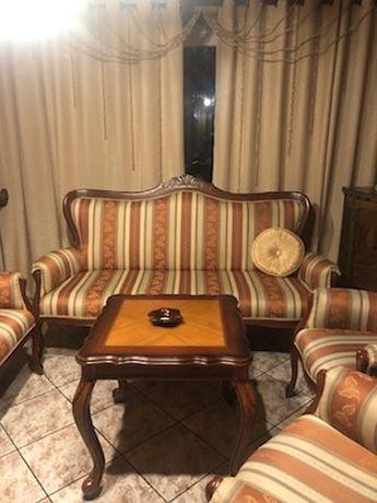 Okazja 5-częściowy komplet mebli zestaw wypoczynkowy do salonu