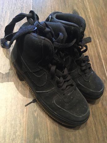 Nike Air Force I Suede Black 38.5 - 24cm