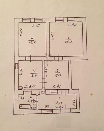 2 комнатная квартира на земле Черемушки по цене 1 комнатной