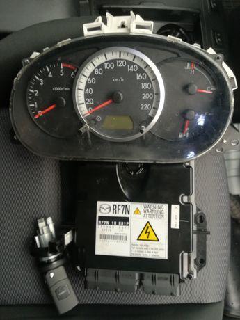 Mazda 5 2l diesel komputer zestaw stacyjka komputer zegary