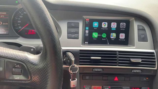 Carplay A6 c6 facelift Q7 bezprzewodowy interfejs