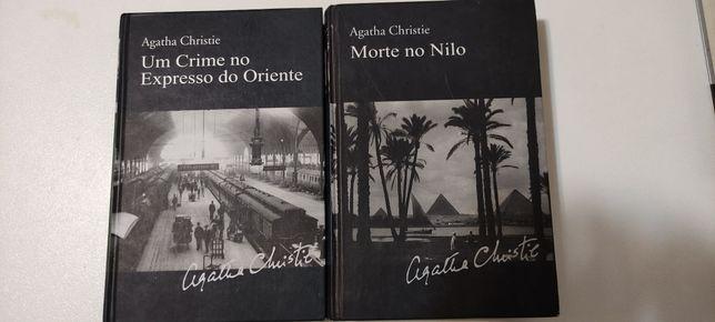 Livros da Ágatha Christie