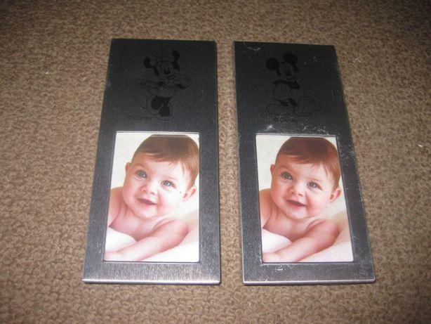 2 Porta-Retratos para Criança/Novo/Oficial da Disney