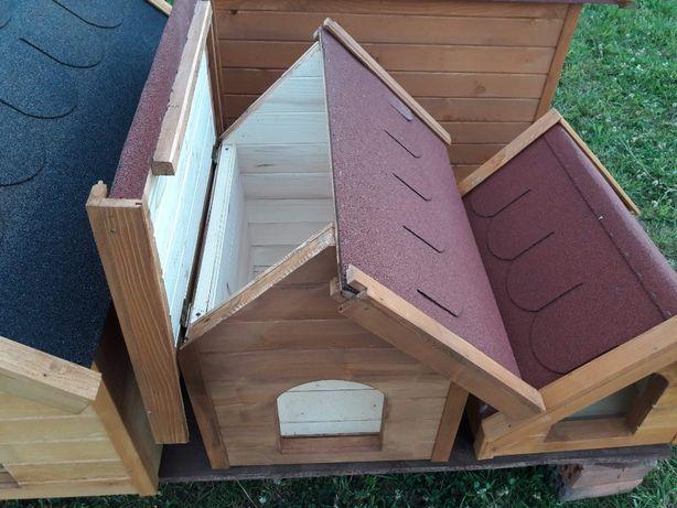 Budy dla psów - otwierany dach